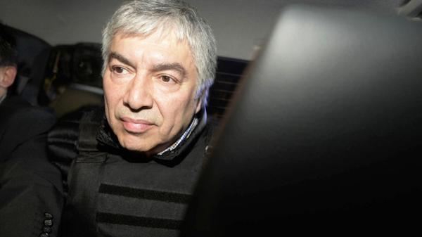 Lázaro Báez, hoy preso en el penal de Ezeiza