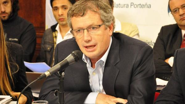 Emilio Monzó, presidente de la Cámara de Diputados y hombre clave para el gobierno de Cambiemos