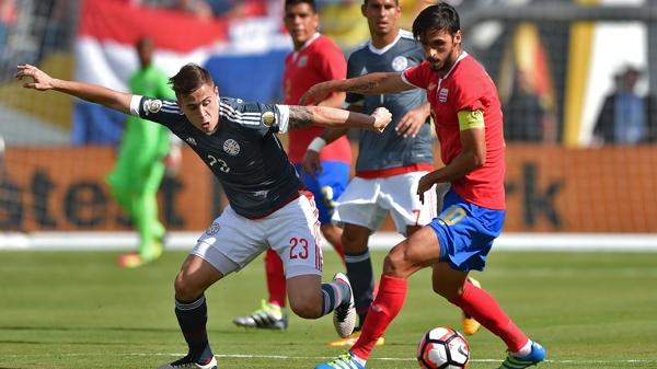 Ambos equipos quedaron segundo en el Grupo A, que lidera Colombia (AFP)