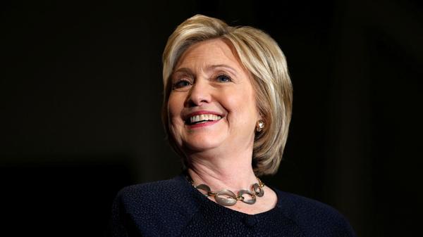 Hillary Clinton, aspirante demócrata a la Casa Blanca, ocupa el segundo lugar en el ranking de Forbes (AFP)