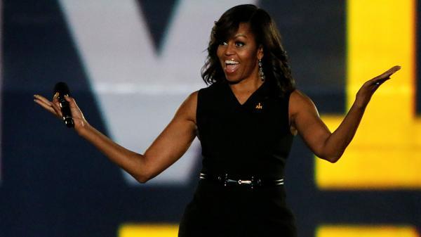 Michelle Obama, la primera dama de los Estados Unidos, en el puesto 13 de las mujeres más poderosas del mundo (Reuters)