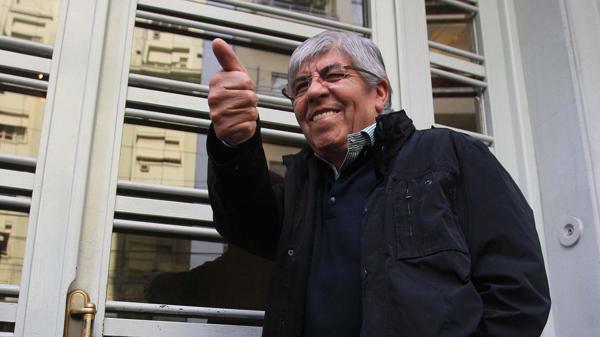 Hugo Moyano, que hoy pidió un amparo a fin de que se realicen las elecciones, aceptó una tregua. (DYN)