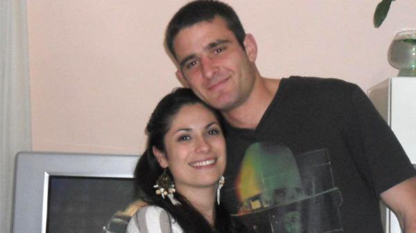 Gustavo y Silvina, su mujer