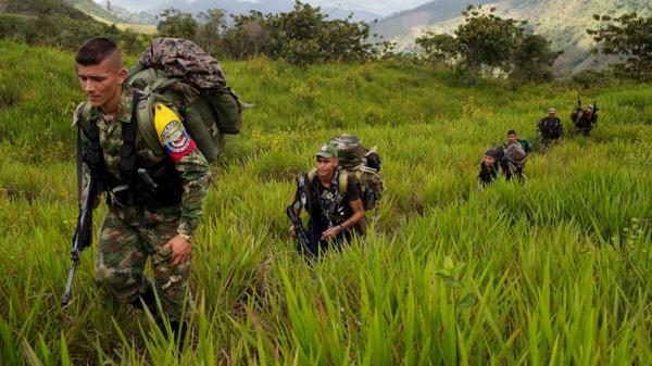 Pablo Catatumbo evitó dar cifras sobre la cantidad de guerrilleros desmovilizados (AP)
