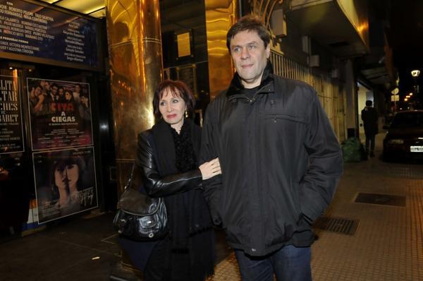 Eleonora Cassano y su marido