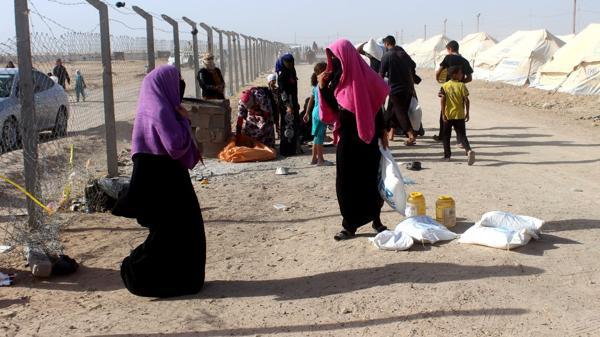Desplazados de Faluya (AFP)