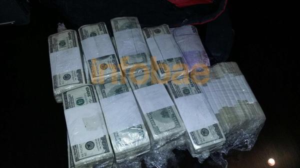 Cuando terminaron de contar el dinero que tenía José López se comprobó que eran USD 8.982.000