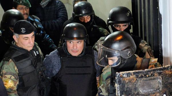 José López, hoy detenido en el penal de Ezeiza.