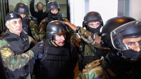 López es trasladado a una dependencia policial en Moreno (NA)