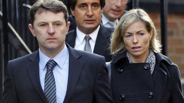 Gerry y Kate McCann. Los padres de Maddie supieron anoche que un amigo de Praia da Luz era pedófilo (Reuters)