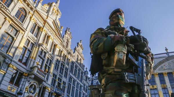 Despliegue militar en Bélgica por amenazas terroristas (Reuters)