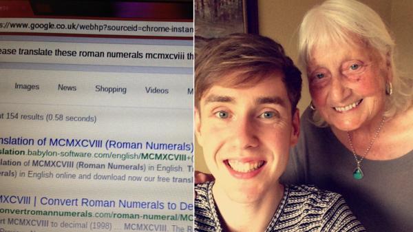 La búsqueda de May Asworth y la foto con su nieto, Ben John