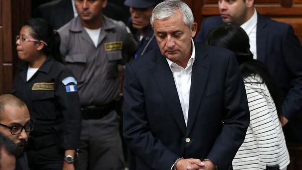 Otto Pérez Molina afronta tres procesos judiciales por corrupción (EFE)