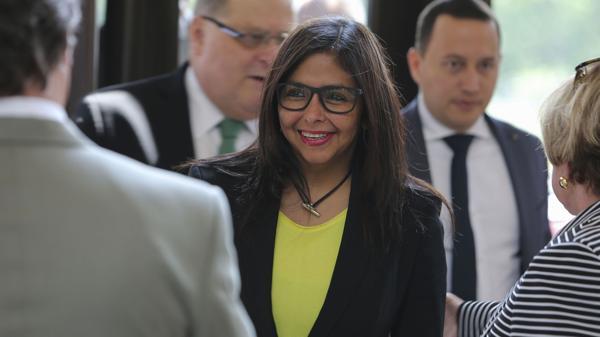 La canciller venezolana, Delcy Rodríguez, fustigó a Almagro y pidió la suspensión de la sesión del próximo jueves (EFE)