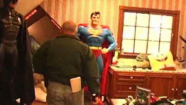 Batman vs. Superman: los superhéroes eran una de las atracciones que tenía el cantante pop dentro de su mansión Neverland Ranch