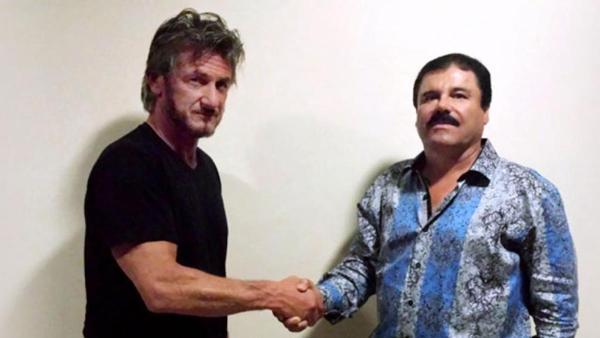 """La controvertida entrevista otorgada a Sean Penn para la revista Rolling Stone llevó a la eventual recaptura de """"El Chapo"""" Guzmán"""