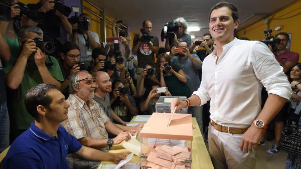 Albert Rivera, presidente de Ciudadanos (AFP)