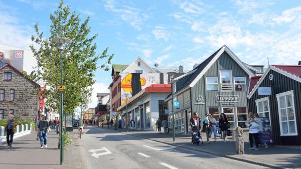 El centro de Reikjavik, la capital europea más pequeña (Shutterstock)