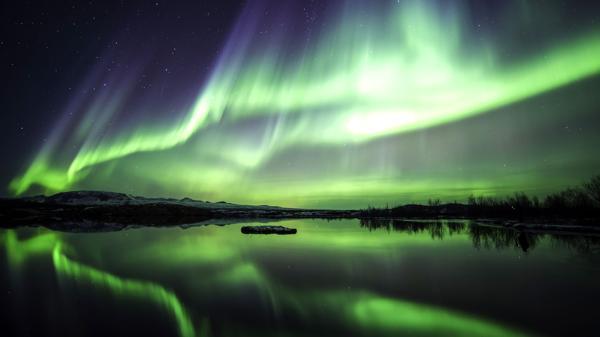 Aurora boreal en Islandia (Shutterstock)