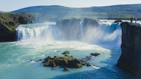 La espectacular catarata de Gulfoss (Shutterstock)