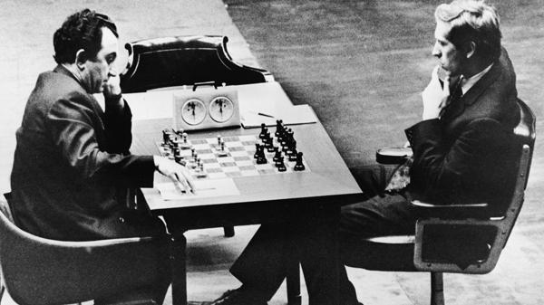 El legandario match entre Bobby Fischer y Boris Spassky en 1972