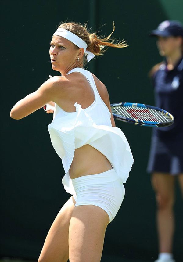 Sweaty Female Tennis Players