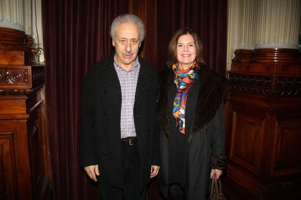 Juan José Jusid y su mujer (Verónica Guerman / Teleshow)