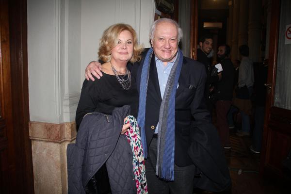 Martha González y Carlos Morelli