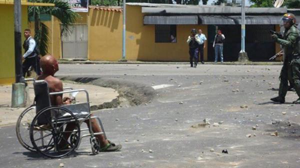 La represión en las calles de Tucupita