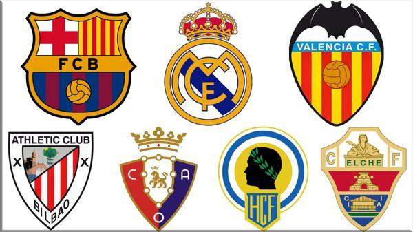 Barcelona, Real Madrid, Valencia, Athletic de Bilbao, Osasuna, Hércules y Elche son los equipos imputados