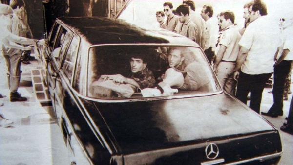 El Mercedes Benz negro réplica del vehículo oficial del dictador ugandés Idi Amin Dada. Con él las fuerzas especiales israelíes comenzaron el operativo de rescate