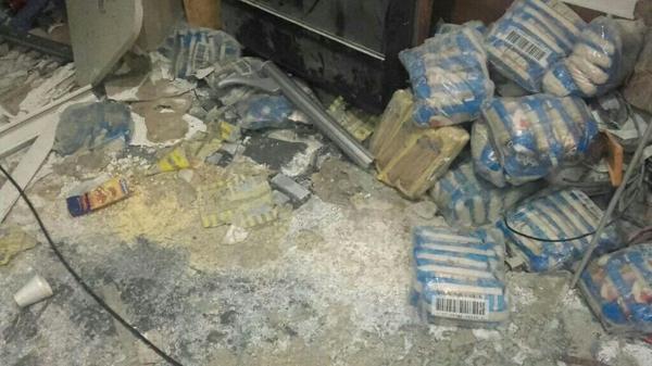 Los sujetos que ingresaron a la redacción también destrozaron pertenencias de los trabajadores