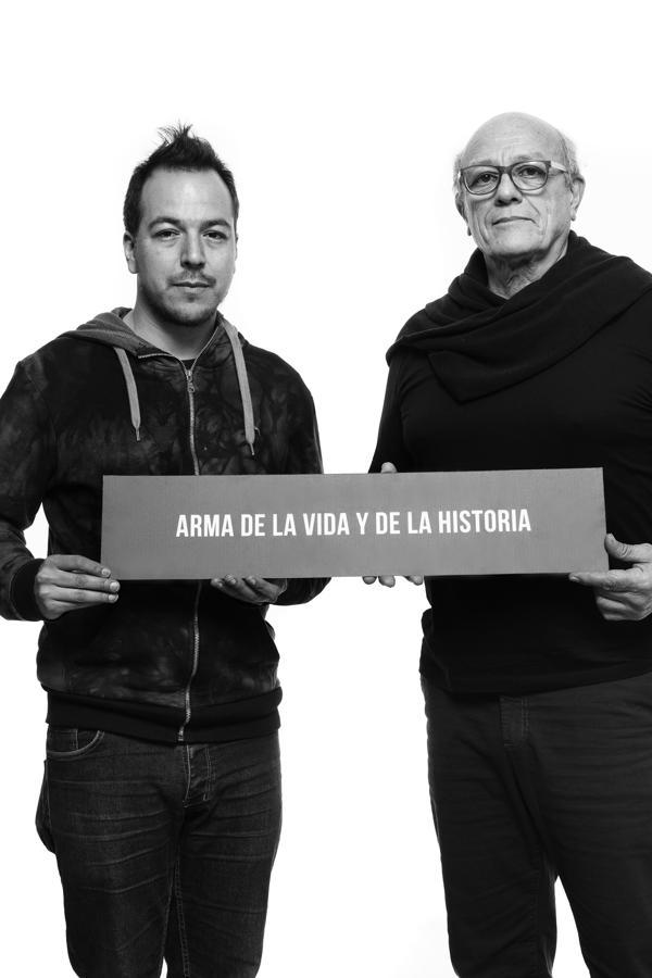 Emilio del Guercio y Bruno Arias (Guido Chouela)