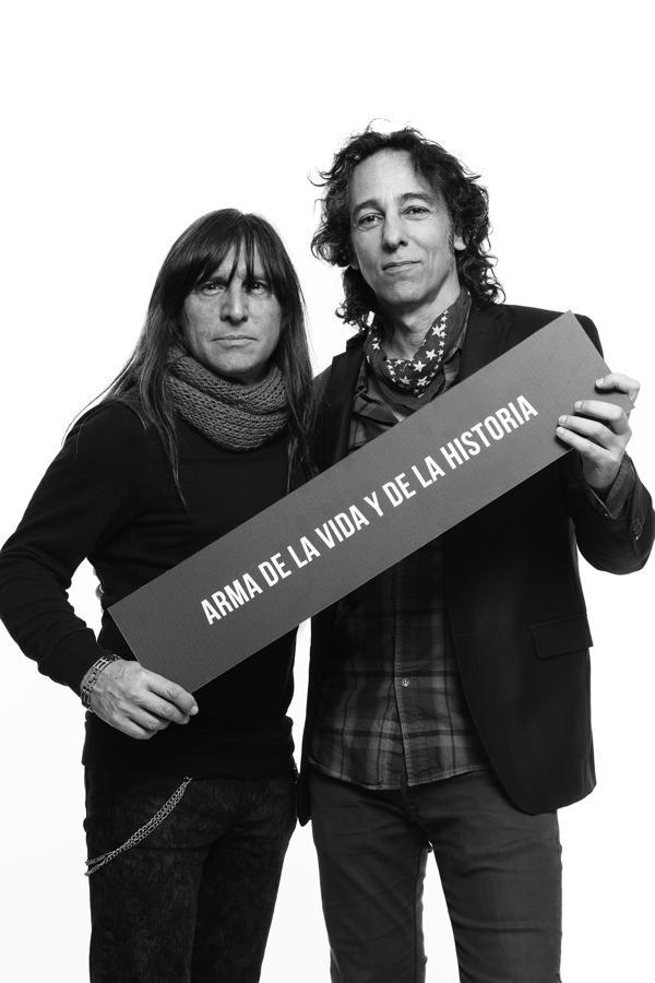 Adrián Barilari y Javier Calamaro (Guido Chouela)