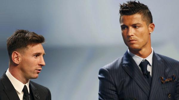 Cristiano Ronaldo y Lionel Messi son los mejores futbolista del planeta (Reuters)
