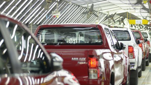 Hilux, la pick-up de Toyota, nace en la planta de Zárate, en la provincia de Buenos Aires (NA)