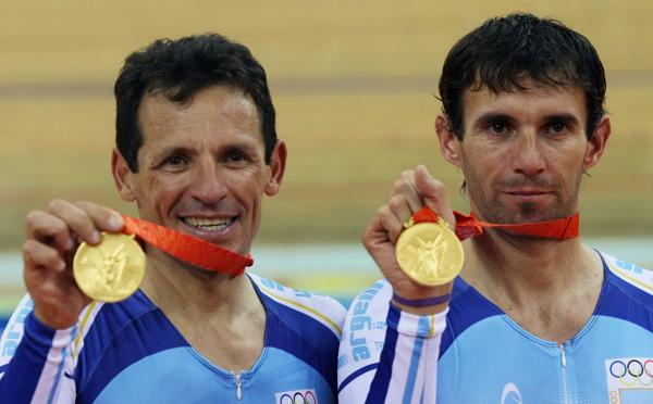 2008: Los ciclistas Juan Curuchet y Walter Pérez obtuvieron la medalla de oro en la prueba Madison que disputaron en los Juegos Olímpicos de Beijing