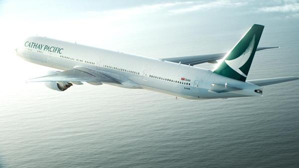 Cathay Pacific, cuarta en el ranking, es una compañía de Hong Kong
