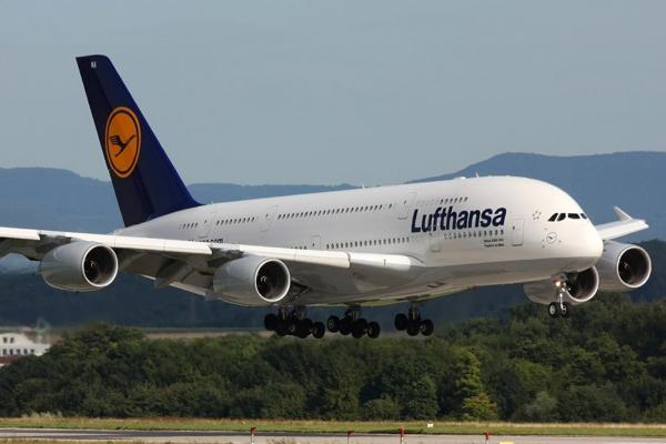 Lufthansa, de Alemania, cierra el ranking de las diez mejores aerolíneas