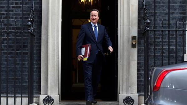 David Cameron abandona el número 10 de Downing Street (Reuters)