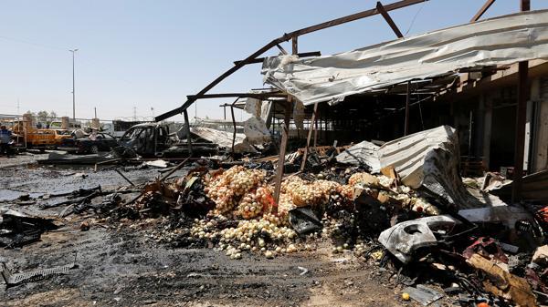 Otras cuatro personas murieron y al menos 21 resultaron heridas en un ataque con coche bomba el miércoles (Reuters)