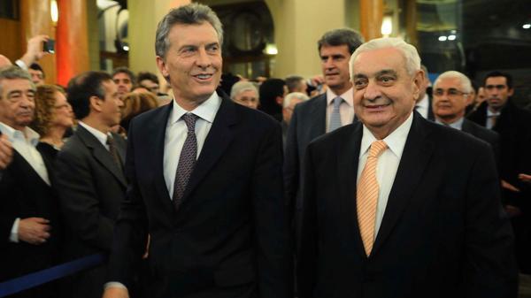 Los inversores comenzaron a responder al mensaje que el presidente Mauricio Macri hizo en el 162° aniversario de la Bolsa (Télam)