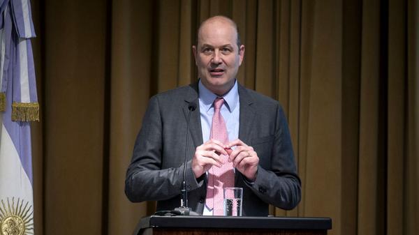 Fedrico Sturzenegger confió en la continuidad de la desaceleración inflacionaria (NA)