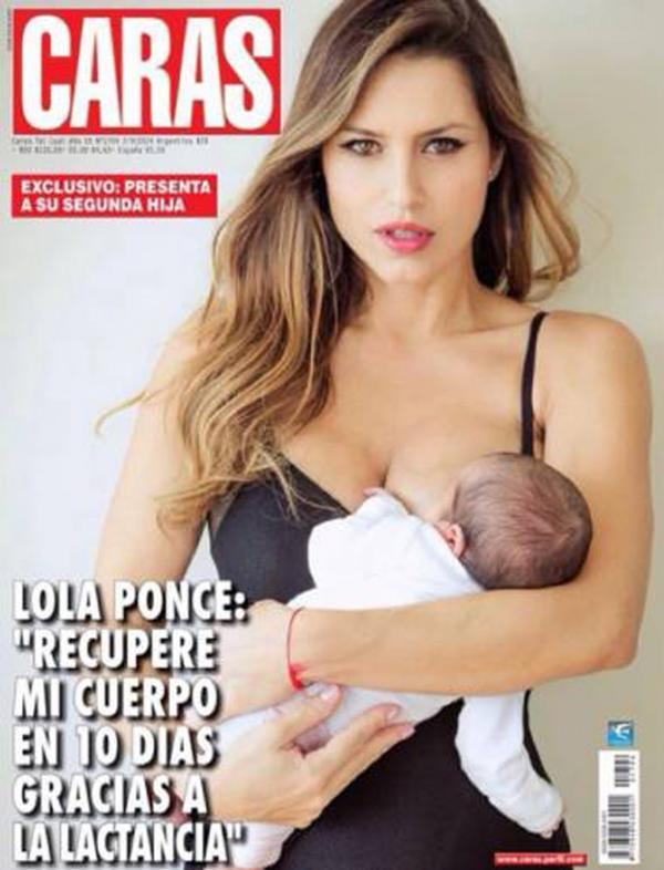 Lola Ponce, tapa con Regina