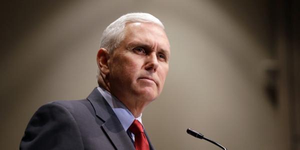 Mike Pence, vicepresidente electo de EEUU (AP Photo/Michael Conroy)