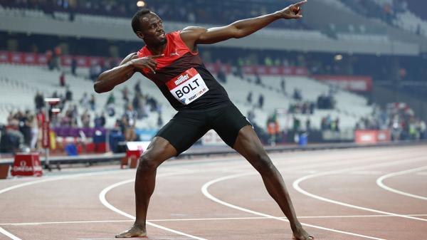 Usain Bolt estableció la mayor marca mundial haciendo 100 metros en 9,69 segundos en Pekín 2008