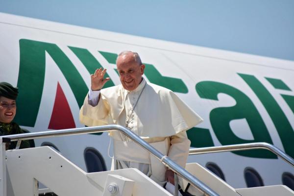 El Papa comenzó su gira por Polonia el miércoles (EFE)