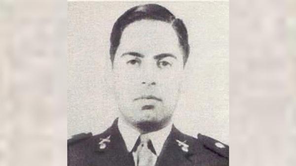 El capitán Humberto Viola