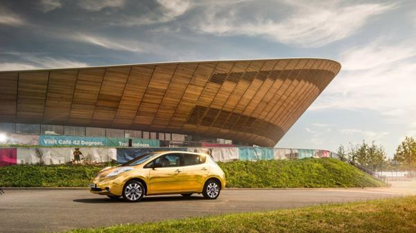 Habrá un modelo por cada uno de los 16 embajadores de Nissanen la delegación británica
