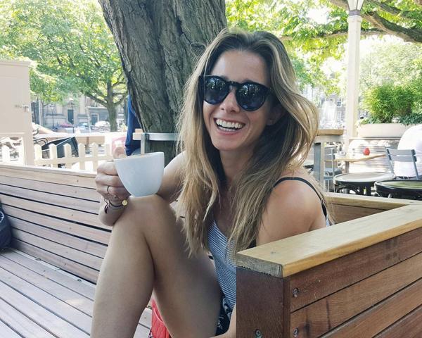 Ellen Hogg, jugadora holandesa de hockey femenino sobre césped